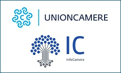 Unioncamere and Infocamere logos