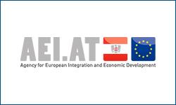 Agency for European Integration and Economic Development logo